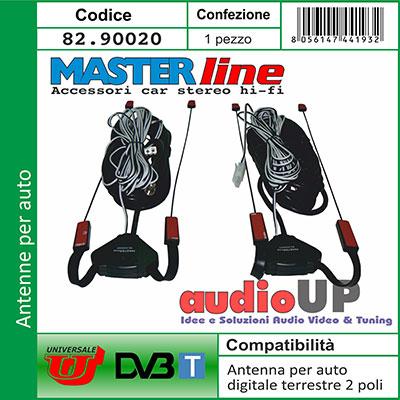 Antenna dvbt per auto digitale terrestre installaz for Box subwoofer in vetroresina